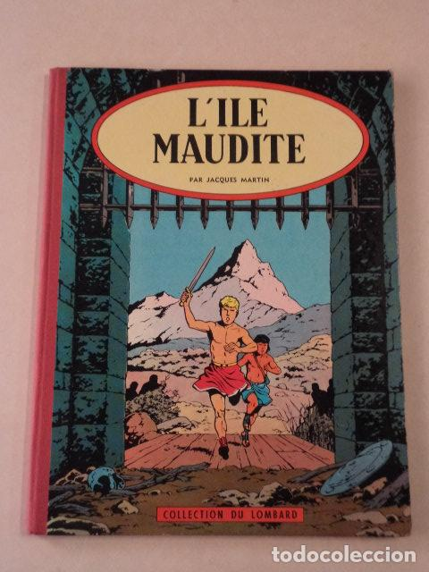 L'ILE MAUDITE - ALIX - AÑO 1957 - 1ª EDICIÓN - JACQUES MARTIN (Tebeos y Comics - Comics Lengua Extranjera - Comics Europeos)