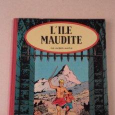 Cómics: L'ILE MAUDITE - ALIX - AÑO 1957 - 1ª EDICIÓN - JACQUES MARTIN. Lote 77339625