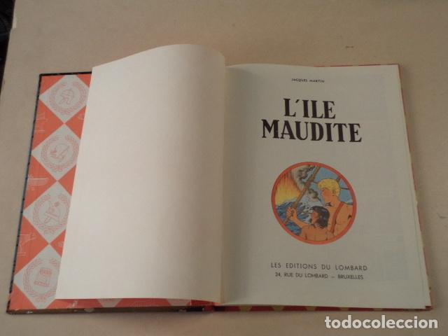 Cómics: L'ILE MAUDITE - ALIX - AÑO 1957 - 1ª EDICIÓN - JACQUES MARTIN - Foto 3 - 77339625