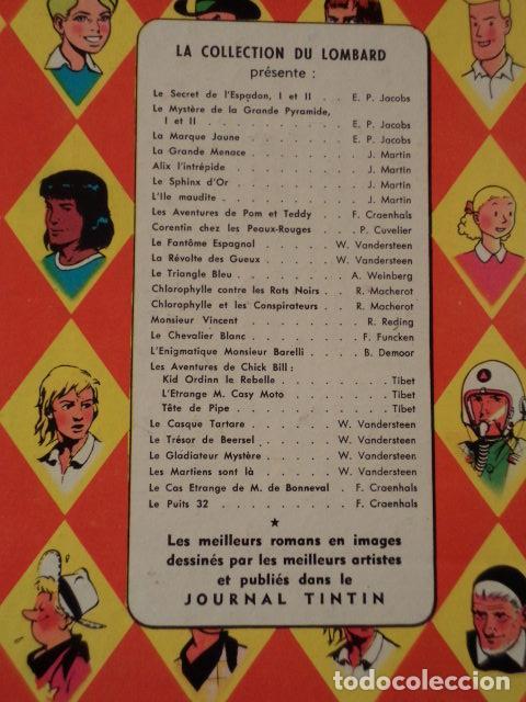 Cómics: L'ILE MAUDITE - ALIX - AÑO 1957 - 1ª EDICIÓN - JACQUES MARTIN - Foto 9 - 77339625