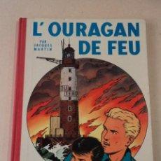 Cómics: L'OURAGAN DE FEU - LEFRANC - AÑO 1961 - 1ª EDICIÓN BELGA - JACQUES MARTIN. Lote 77340833