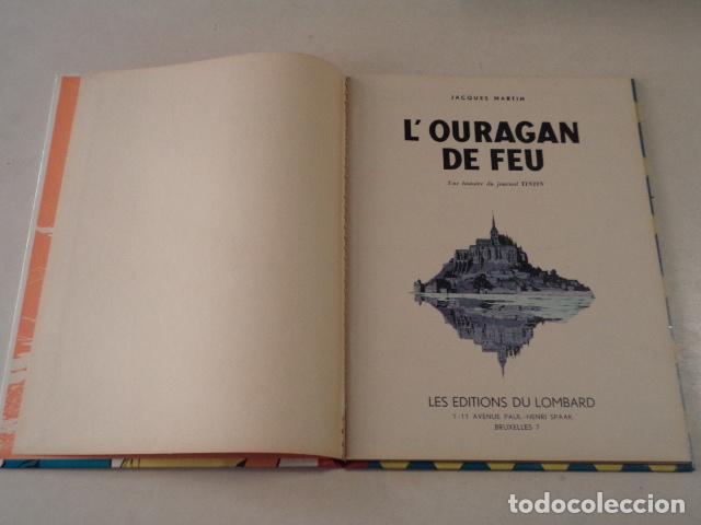 Cómics: L'OURAGAN DE FEU - LEFRANC - AÑO 1961 - 1ª EDICIÓN BELGA - JACQUES MARTIN - Foto 3 - 77340833