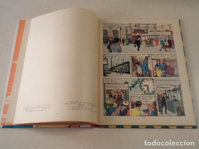 Cómics: L'OURAGAN DE FEU - LEFRANC - AÑO 1961 - 1ª EDICIÓN BELGA - JACQUES MARTIN - Foto 4 - 77340833