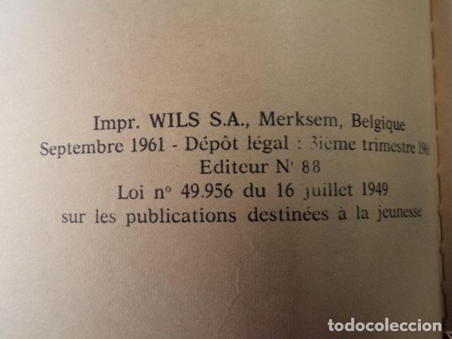 Cómics: L'OURAGAN DE FEU - LEFRANC - AÑO 1961 - 1ª EDICIÓN BELGA - JACQUES MARTIN - Foto 5 - 77340833