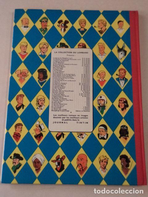 Cómics: L'OURAGAN DE FEU - LEFRANC - AÑO 1961 - 1ª EDICIÓN BELGA - JACQUES MARTIN - Foto 8 - 77340833