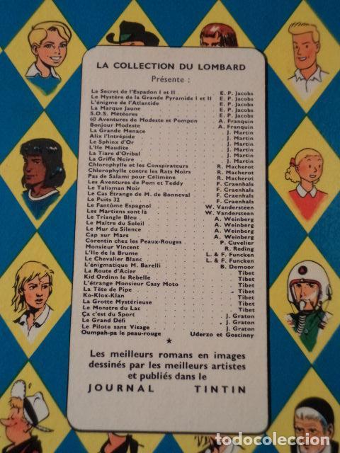 Cómics: L'OURAGAN DE FEU - LEFRANC - AÑO 1961 - 1ª EDICIÓN BELGA - JACQUES MARTIN - Foto 9 - 77340833