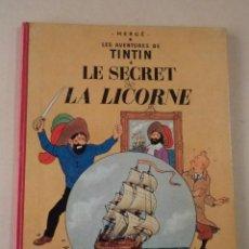 TINTIN - LE SECRET DE LA LICORNE - AÑO 1958 - HERGÉ