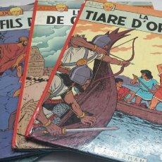 Cómics: LOTE 4 COMICS ALIX EN FRANCES AÑO 1966. Lote 139651014