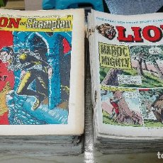 Cómics: LION AND CHAMPION - LA MÍTICA REVISTA INGLESA / LOTE CON 88 NÚMEROS / SPIDER, TEXAS JACK, BARRACUDA. Lote 195075906