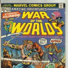 Cómics: WAR OF THE WORLDS . Lote 77901069