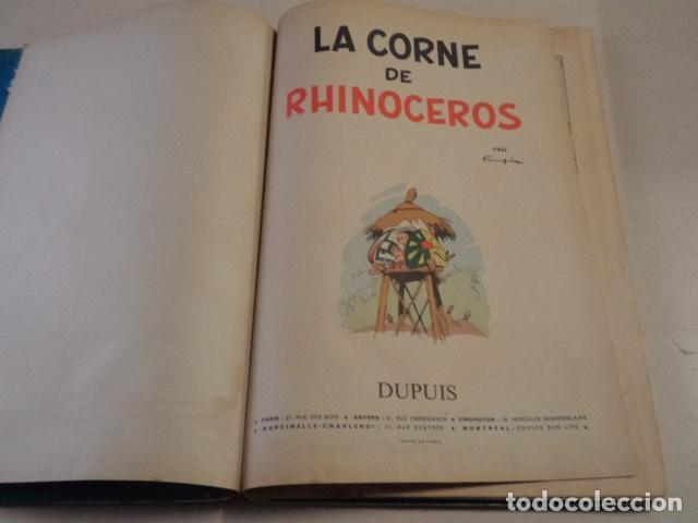 Cómics: LA CORNE DE RHINOCEROS - SPIROU ET FANTASIO Nº 6 - AÑO 1955 - 1ª EDICIÓN FRANCESA - FRANQUIN - Foto 3 - 77908573
