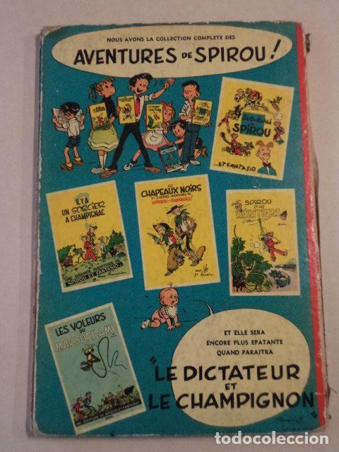 Cómics: LA CORNE DE RHINOCEROS - SPIROU ET FANTASIO Nº 6 - AÑO 1955 - 1ª EDICIÓN FRANCESA - FRANQUIN - Foto 7 - 77908573