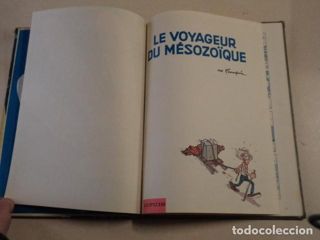 Cómics: LE VOYAGEUR DU MÉSOZOÏQUE - SPIROU ET FANTASIO Nº 13 - AÑO 1960 - 1ª EDICIÓN - FRANQUIN - Foto 3 - 77908669