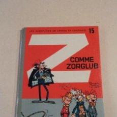 Cómics: Z COMME ZORGLUB - SPIROU ET FANTASIO Nº 15 - AÑO 1961 - 1ª EDICIÓN - FRANQUIN. Lote 77908873