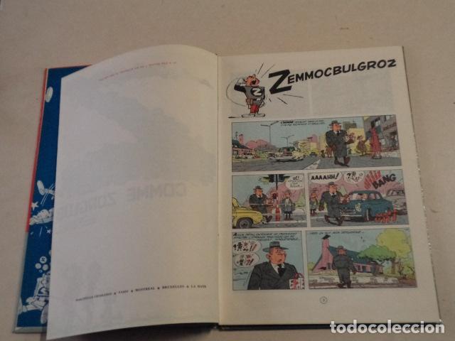 Cómics: Z COMME ZORGLUB - SPIROU ET FANTASIO Nº 15 - AÑO 1961 - 1ª EDICIÓN - FRANQUIN - Foto 4 - 77908873