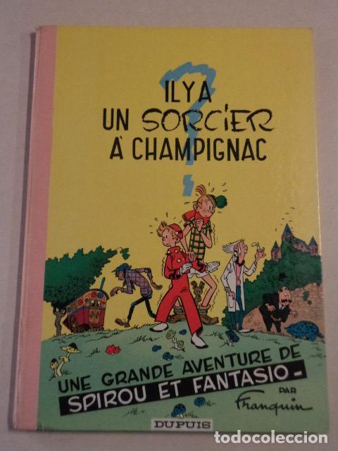 IL Y A UN SORCIER À CHAMPIGNAC - SPIROU ET FANTASIO Nº 2 - AÑO 1966 - FRANQUIN (Tebeos y Comics - Comics Lengua Extranjera - Comics Europeos)