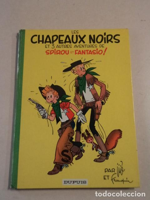 LES CHAPEAUX NOIRS - SPIROU ET FANTASIO Nº 3 - AÑO 1964 - FRANQUIN (Tebeos y Comics - Comics Lengua Extranjera - Comics Europeos)