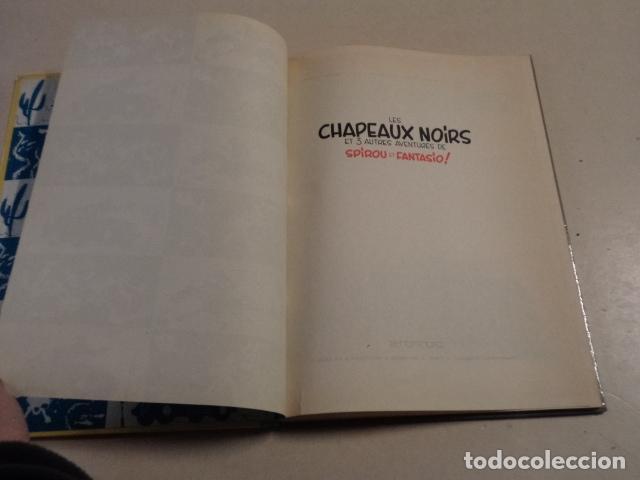 Cómics: LES CHAPEAUX NOIRS - SPIROU ET FANTASIO Nº 3 - AÑO 1964 - FRANQUIN - Foto 3 - 77909417