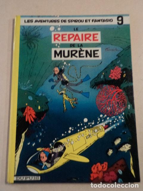LE REPAIRE DE LA MURÈNE - SPIROU ET FANTASIO Nº 9 - AÑO 1965 - FRANQUIN (Tebeos y Comics - Comics Lengua Extranjera - Comics Europeos)