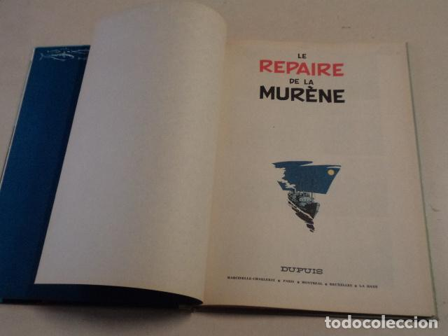 Cómics: LE REPAIRE DE LA MURÈNE - SPIROU ET FANTASIO Nº 9 - AÑO 1965 - FRANQUIN - Foto 3 - 77909845