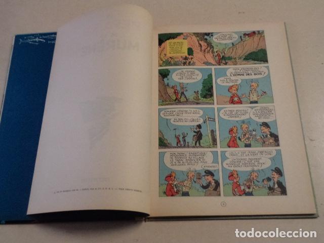 Cómics: LE REPAIRE DE LA MURÈNE - SPIROU ET FANTASIO Nº 9 - AÑO 1965 - FRANQUIN - Foto 4 - 77909845