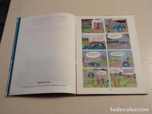 Cómics: LE DICTATEUR ET LE CHAMPIGNON - SPIROU ET FANTASIO Nº 7 - AÑO 1966 - FRANQUIN - Foto 4 - 77910313