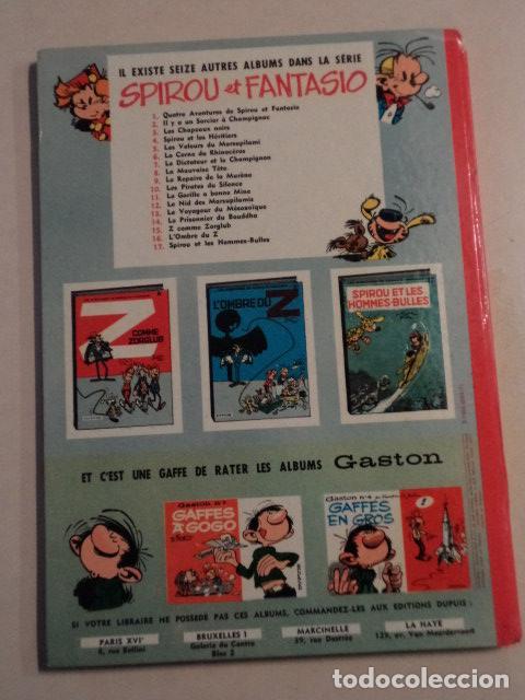 Cómics: LE DICTATEUR ET LE CHAMPIGNON - SPIROU ET FANTASIO Nº 7 - AÑO 1966 - FRANQUIN - Foto 8 - 77910313