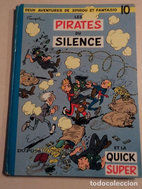 LES PIRATES DU SILENCE - SPIROU ET FANTASIO Nº 10 - AÑO 1964 - FRANQUIN (Tebeos y Comics - Comics Lengua Extranjera - Comics Europeos)