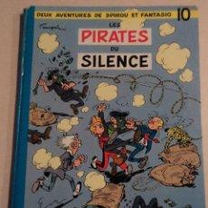 Cómics: LES PIRATES DU SILENCE - SPIROU ET FANTASIO Nº 10 - AÑO 1964 - FRANQUIN. Lote 77910521