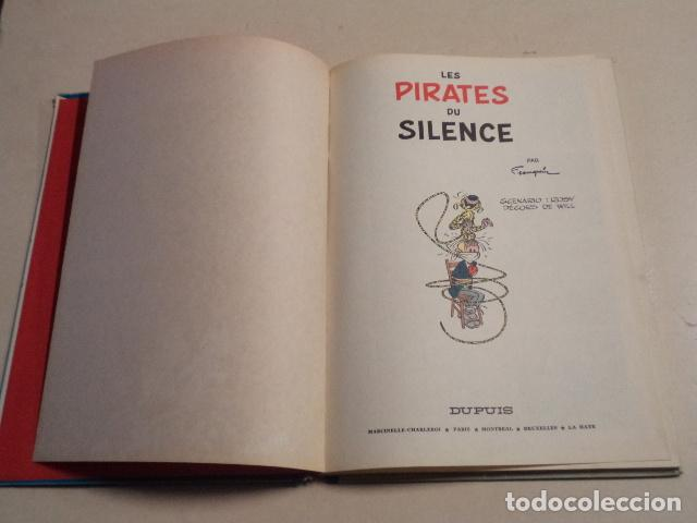 Cómics: LES PIRATES DU SILENCE - SPIROU ET FANTASIO Nº 10 - AÑO 1964 - FRANQUIN - Foto 3 - 77910521