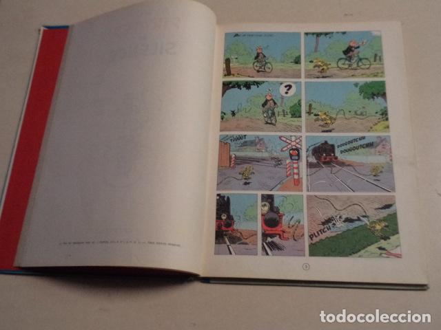 Cómics: LES PIRATES DU SILENCE - SPIROU ET FANTASIO Nº 10 - AÑO 1964 - FRANQUIN - Foto 4 - 77910521