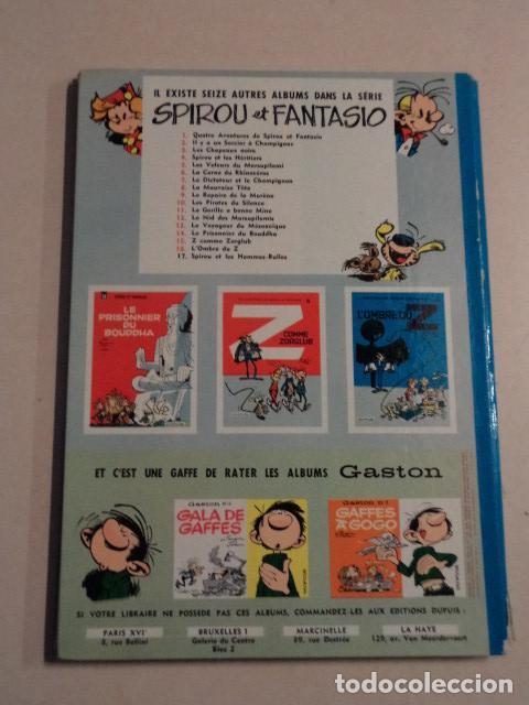 Cómics: LES PIRATES DU SILENCE - SPIROU ET FANTASIO Nº 10 - AÑO 1964 - FRANQUIN - Foto 7 - 77910521