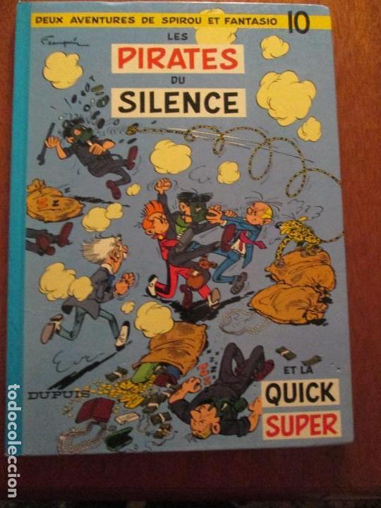 SPIROU ET FANTASIO- LES PIRATES DU SILENCE (Tebeos y Comics - Comics Lengua Extranjera - Comics Europeos)