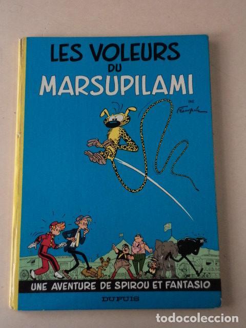 LES VOLEURS DU MARSUPILAMI - SPIROU ET FANTASIO Nº 5 - AÑO 1965 - FRANQUIN (Tebeos y Comics - Comics Lengua Extranjera - Comics Europeos)