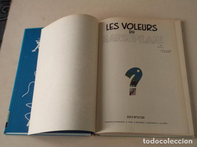 Cómics: LES VOLEURS DU MARSUPILAMI - SPIROU ET FANTASIO Nº 5 - AÑO 1965 - FRANQUIN - Foto 3 - 78222757