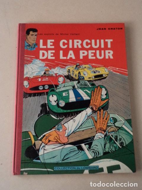 LE CIRCUIT DE LA PEUR - MICHEL VAILLANT Nº 3 - AÑO 1961 - 1ª EDICIÓN BELGA - GRATON (Tebeos y Comics - Comics Lengua Extranjera - Comics Europeos)