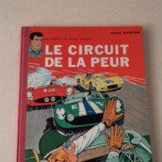 Cómics: LE CIRCUIT DE LA PEUR - MICHEL VAILLANT Nº 3 - AÑO 1961 - 1ª EDICIÓN BELGA - GRATON. Lote 78232297