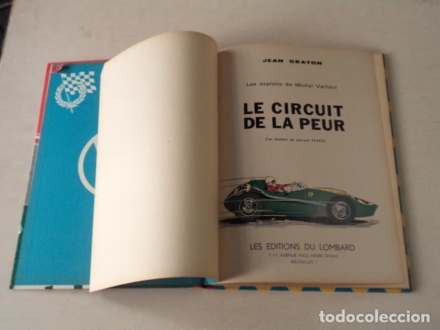 Cómics: LE CIRCUIT DE LA PEUR - MICHEL VAILLANT Nº 3 - AÑO 1961 - 1ª EDICIÓN BELGA - GRATON - Foto 3 - 78232297