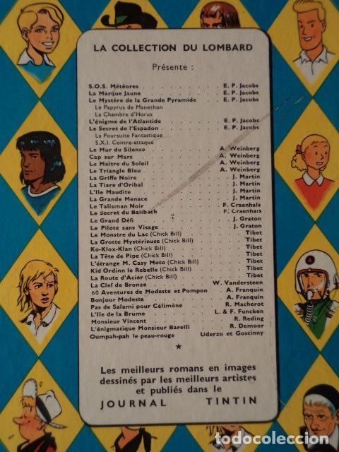 Cómics: LE CIRCUIT DE LA PEUR - MICHEL VAILLANT Nº 3 - AÑO 1961 - 1ª EDICIÓN BELGA - GRATON - Foto 8 - 78232297