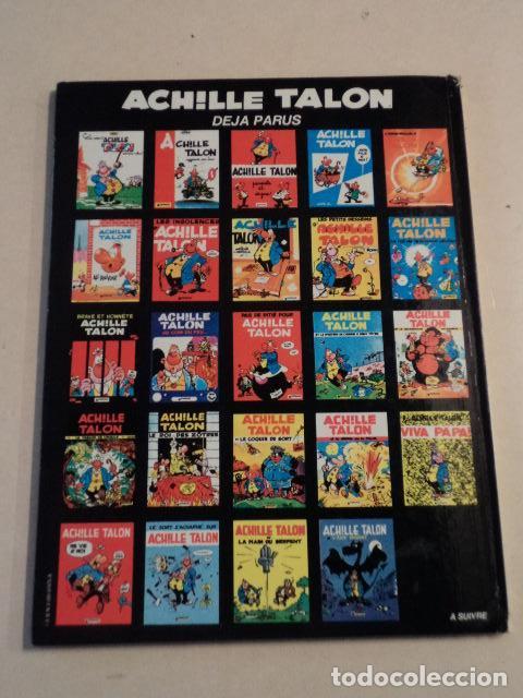 Cómics: ACHILLE TALON ET L'ÂGE INGRAT - ACHILLE TALON Nº 24 - AÑO 1980- 1ª EDICIÓN - GREG - Foto 2 - 79332861