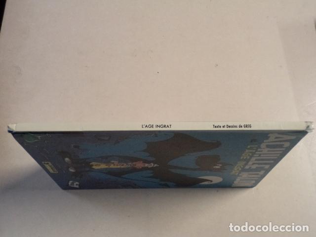 Cómics: ACHILLE TALON ET L'ÂGE INGRAT - ACHILLE TALON Nº 24 - AÑO 1980- 1ª EDICIÓN - GREG - Foto 3 - 79332861