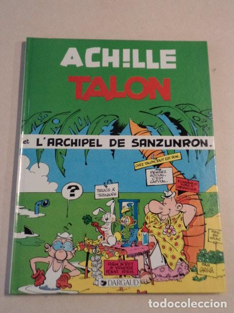 ACHILLE TALON ET L'ARCHIPEL DE SANZUNRON - ACHILLE TALON Nº 37 - AÑO 1985 - 1ª EDICIÓN - GREG (Tebeos y Comics - Comics Lengua Extranjera - Comics Europeos)