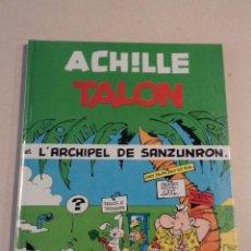 Cómics: ACHILLE TALON ET L'ARCHIPEL DE SANZUNRON - ACHILLE TALON Nº 37 - AÑO 1985 - 1ª EDICIÓN - GREG. Lote 79333541