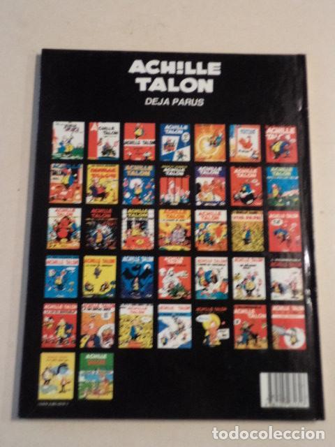 Cómics: ACHILLE TALON ET L'ARCHIPEL DE SANZUNRON - ACHILLE TALON Nº 37 - AÑO 1985 - 1ª EDICIÓN - GREG - Foto 2 - 79333541