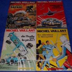 Cómics: MICHEL VAILLANT - UNE HISTOIRE DU JOURNAL TINTIN (AÑOS 70) + REGALO. Lote 80276569