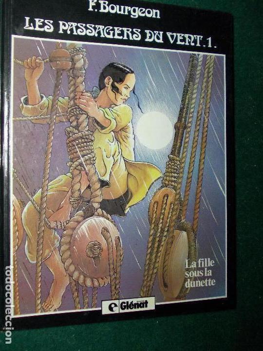 COMIC F. BOURGEON LES PASSAGERS DU VENT (Tebeos y Comics - Comics Lengua Extranjera - Comics Europeos)