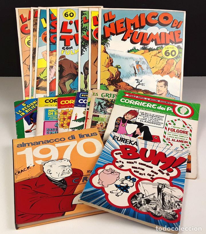 LOTE DE 16 COMICS INFANTIL. (VARIOS, VER DESCRIPCIÓN). VARIOS IDIOMAS. VV. AA. 1970/1974. (Tebeos y Comics - Comics Lengua Extranjera - Comics Europeos)