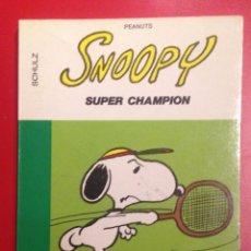 Cómics: SNOOPY SUPER CHAMPION -DARGAUD 16/22 (FRANCES). Lote 81891356