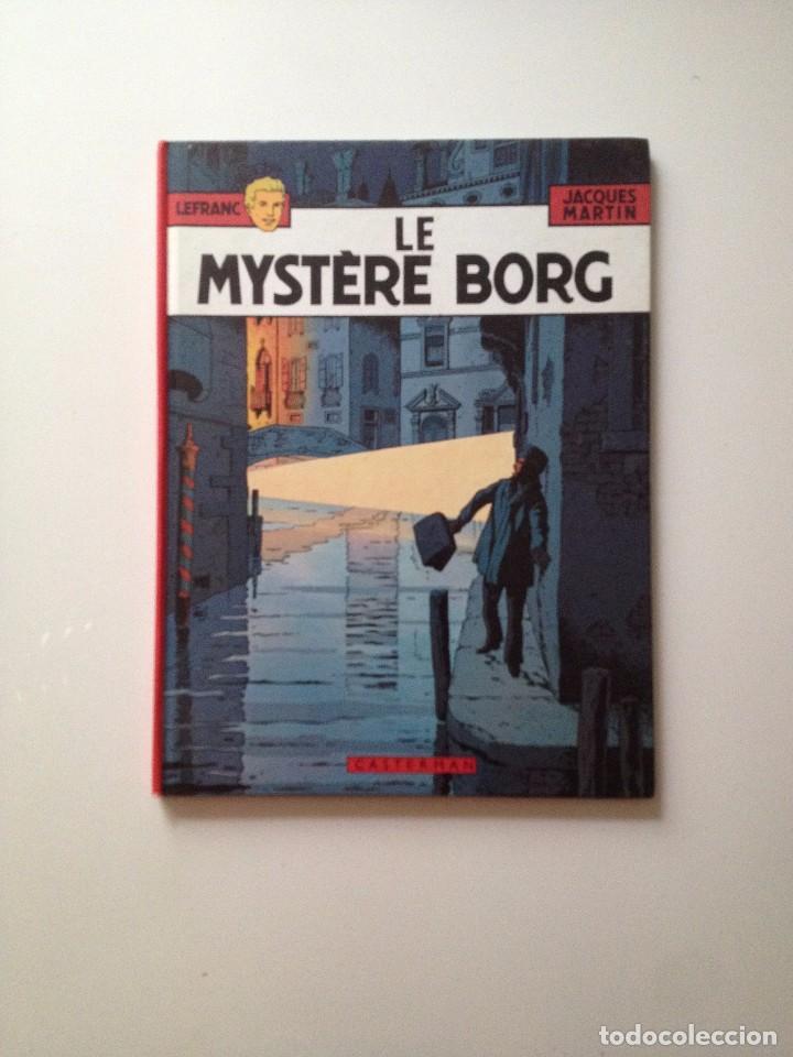 LEFRANC:LE MYSTERE BORG .JACQUES MARTIN/CASTERMAN (FRANCES) (Tebeos y Comics - Comics Lengua Extranjera - Comics Europeos)