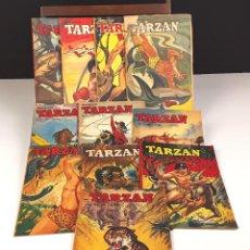 Cómics: TARZAN. SERIE FORLAGET. 11 EJEMPLARES(VER DESCRIP). VV. AA. EDIT. AHLÉN Y AKERLUNDS. 1952/1953.. Lote 82419148